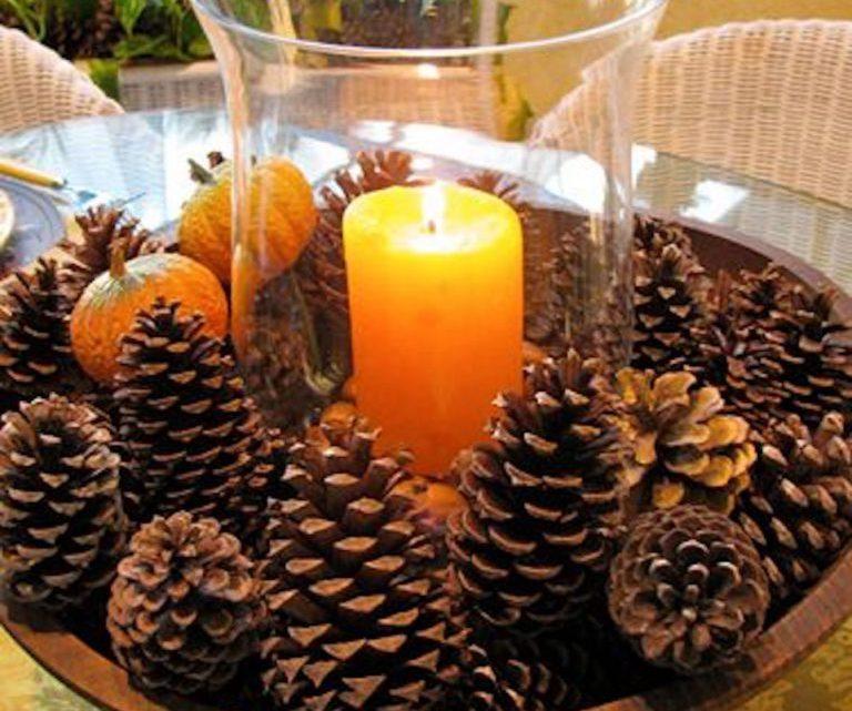 Несколько тонкостей как сделать арома-шишки для дома