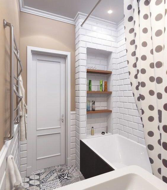 15 крутых решений для 2 м², которые могут помочь грамотно обустроить маленькую ванную