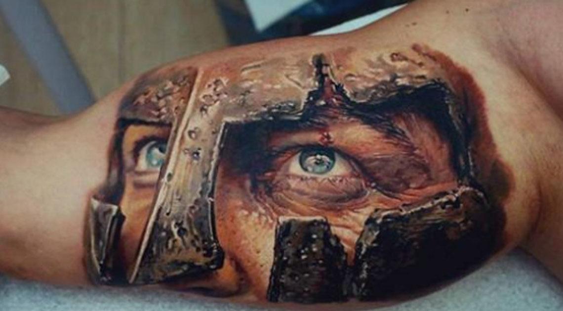 30+ сумасшедших 3D татуировок, которые пугают своей реалистичностью