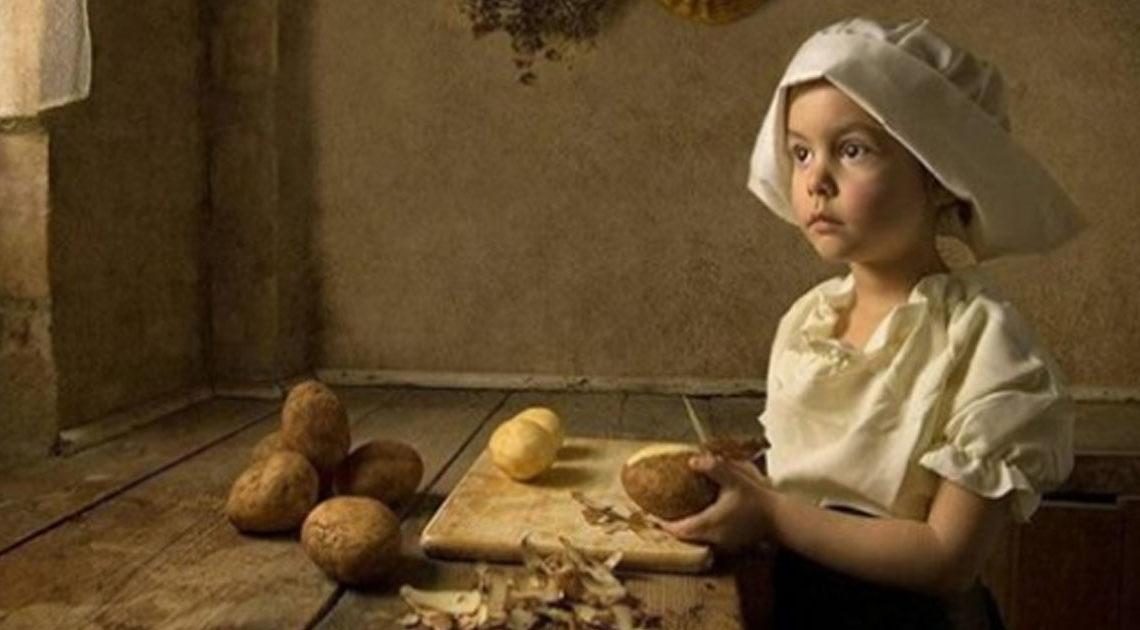 О том, что умела девочка 10-ти лет, живущая в деревне век назад