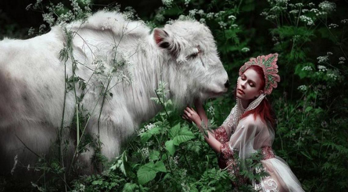 Этот российский фотограф заставляет по-новому взглянуть на принцесс из русских сказок