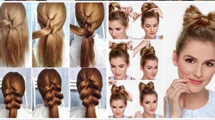 6 симпатичных причёсок, которые можно сделать за короткое время