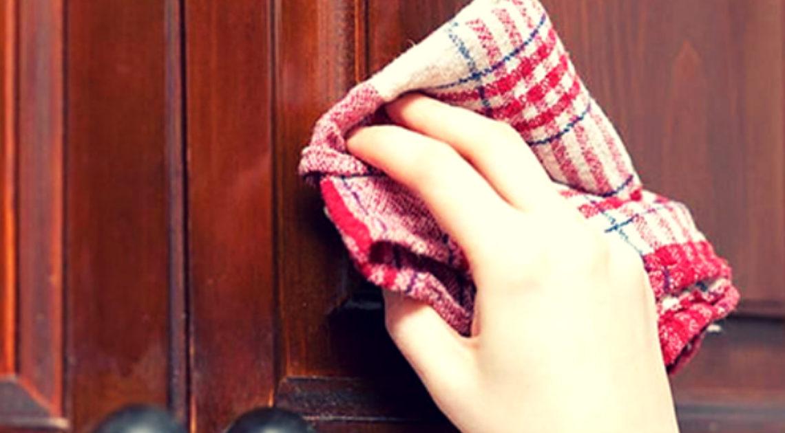 5 Способов очистить кухонные шкафчики от жирного налета