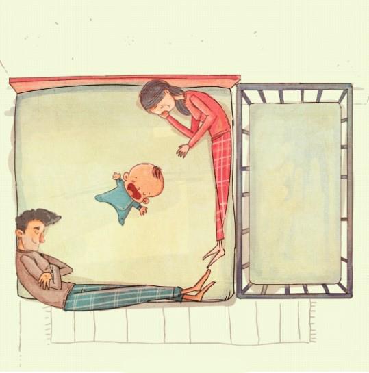 Картинки про молодых родителей смешные