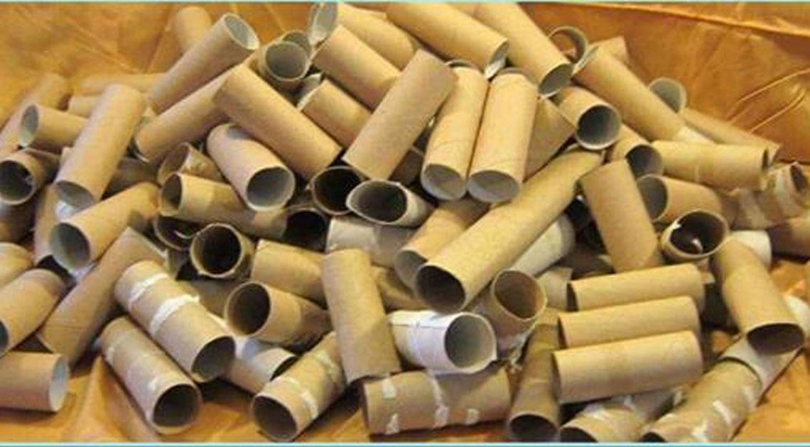 11 способов как использовать рулоны туалетной бумаги
