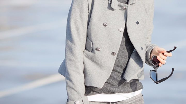 Элегантный серый: 20 чарующих образов для холодов