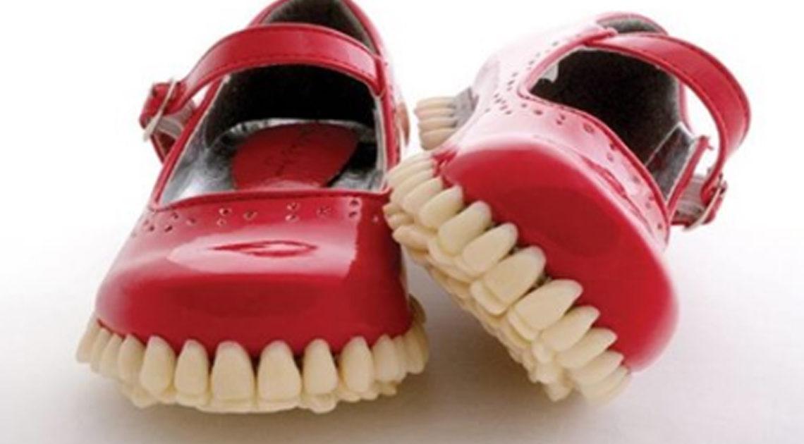 Безумная обувь от дизайнеров, которых слегка понесло.
